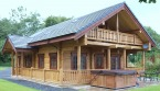 Mid Wales log cabins